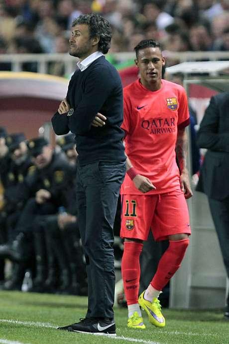 Neymar mostrou insatisfação em mais de uma ocasião nesta temporada