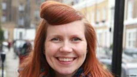 <p>Lucy Aitken Read abriu mão de usar xampu para reduzir a quantidade de químicosno corpo</p>