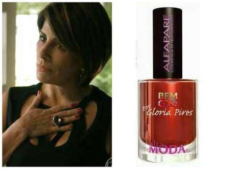 <p>Na terceira posição, mais uma vez a Glória Pires: esmalte vermelho Donna (024), da coleção Bemglô, da Alta Moda É... Preço: R$ 7. Informações: 0800-0212652. </p>