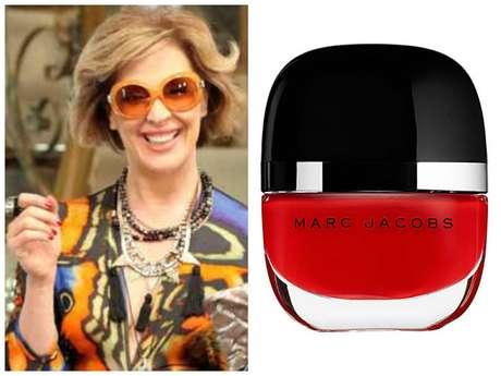 <p>Samantha (Claudia Raia), de<em> Alto Astral</em>, agradou com esmalte vermelho-escuro da Marc Jacobs, cor 183, mas a coleção da marca para a Sephora ainda não está disponível no Brasil. Informações: (21) 3004-7500. Conta ainda com cobertura extrabrilho da Dior. Informações: 0800-170506.</p>