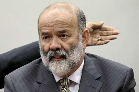 Tesoureiro do PT, João Vaccari Neto, em depoimento na CPI da Petrobras