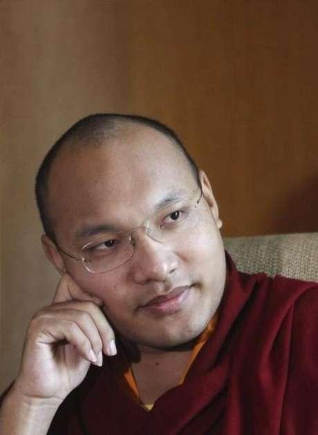 Ogyen Trinley Dorje, que detém o título de Karmapa Lama, em foto de arquivo. 29/11/2011