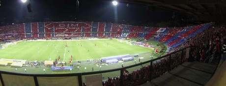 La hinchada del Deportivo Independiente Medellín.