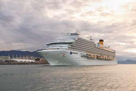 Mais novo da frota, Costa Diadema faz roteiros pelo Mediterrâneo