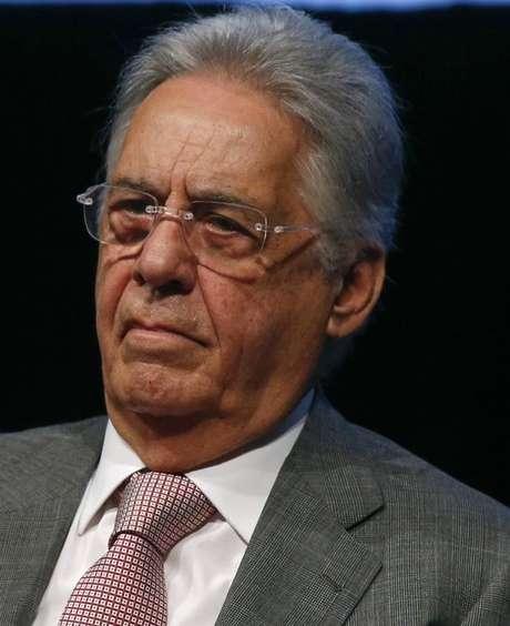 <p>Ex-presidente Fernando Henrique Cardoso</p>