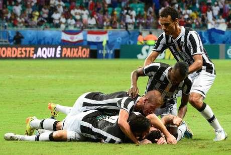 Ceará largou na frente na decisão da Copa do Nordeste