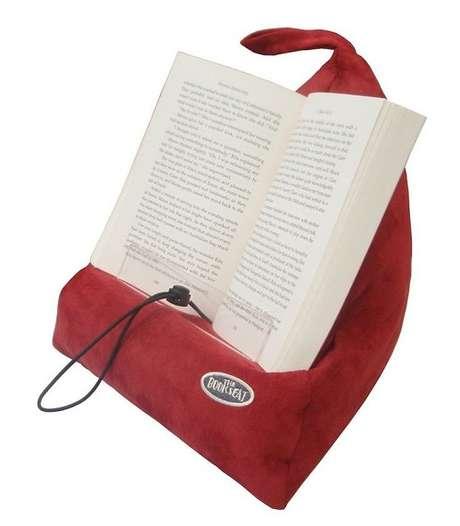 D a del libro 10 gadgets o accesorios para fan ticos de for Cojin para leer en la cama