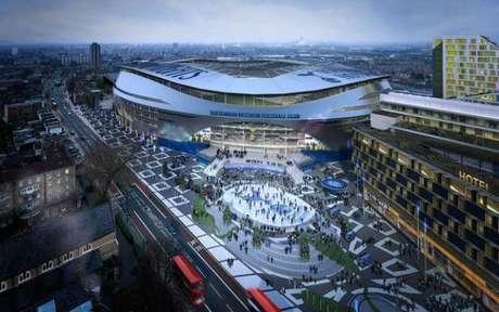 Novo estádio pode ter gramado removível para jogos de futebol americano