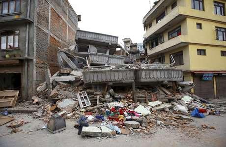 Terremoto de 7,9 graus devastou o Nepal e deixou centenas de mortos, neste sábado, 25 de abril