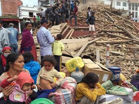 Nepal foi atingido neste sábado pelo pior terremoto em mais de 80 anos