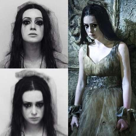 No início de abril, atriz postou foto caracterizada como nova personagem, a vilã Malvina, da série 'Amor, Te Amo'