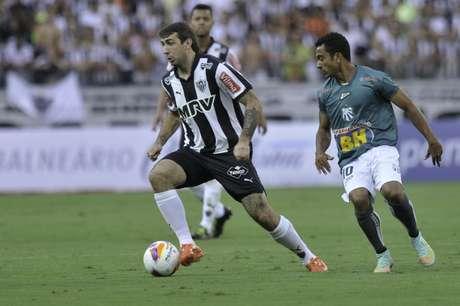 Lucas Pratto passou em branco na primeira partida da final do Campeonato Mineiro