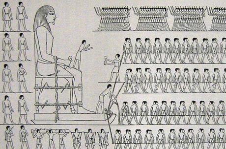 Cientistas revelam mistério sobre transporte de estátuas no Egito