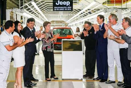 Dilma Rousseff afirmou nesta terça feira, durante o lançamento da fabrica da Jeep, em Goiana, que a Petrobras está virando uma pagina da operação Lava Jato