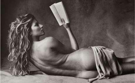 Em 2006, Gisele foi clicada pelo fotógrafo Irving Penn para a Vogue americana