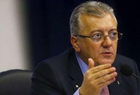 Presidente da Petrobras, Aldemir Bendine, durante reunião no Rio de Janeiro, em 23 de abril