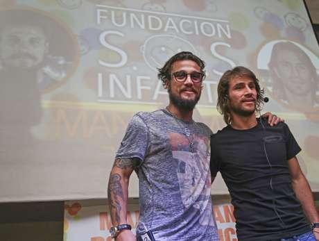 Los jugadores encabezaron el evento de la Fundación SOS Infantil, para fortalecer el trabajo con un mensaje de integración, solidaridad y no violencia