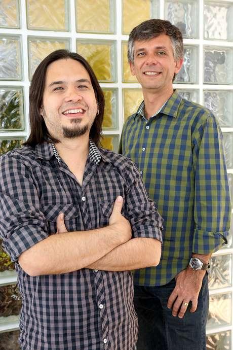 """""""Nossa amizade foi essencial para entrarmos de cabeça no negócio"""", afirma Roberto Icizuca, sócio do colega de faculdade Guilherme Coelho na startup 01Digital"""