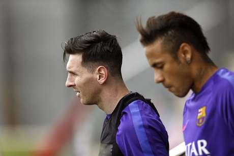 Messi e Neymar estão confirmados na final, mas Suárez ainda é dúvida