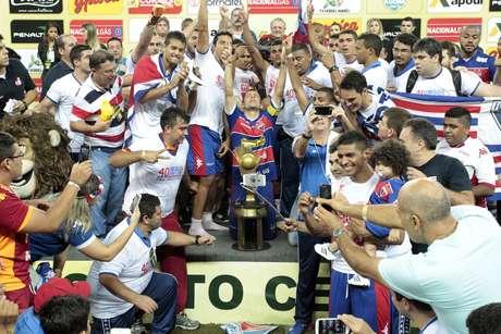 Fortaleza conquistou o Campeonato Cearense em 2015 também