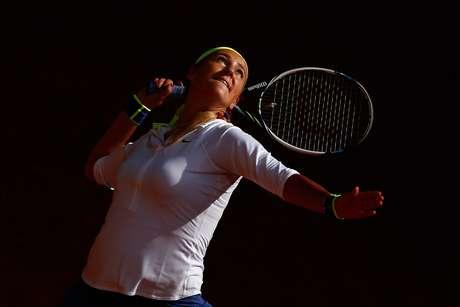 A tenista bielorussa Victoria Azarenka.