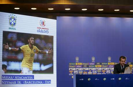 Neymar é o artilheiro da nova era Dunga com oito gols