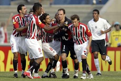 Rogério Ceni conquistou três títulos nacionais por pontos corridos
