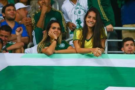 Torcida do Palmeiras vem comparecendo ao Allianz Parque