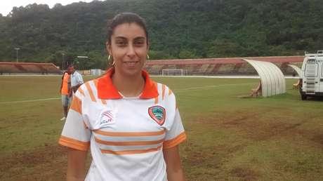 Nilmara Alves já está há três anos no cargo e é muito visada por torcedores