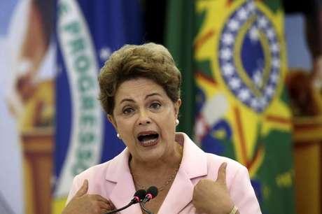 Presidente Dilma Rousseff diz não temer impeachment