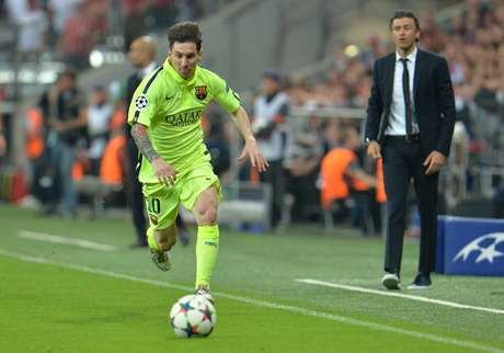 Messi não teve a atuação desequilibrante do jogo de ida, mas deu trabalho à defesa do Bayern