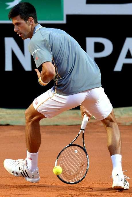 Djokovic mostra habilidade em Roma