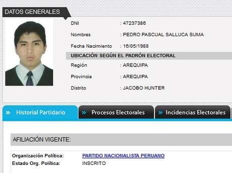 Pedro Pascual salluca suma