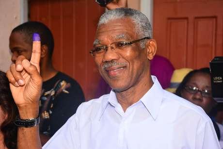 David Granger tomou posse como oitavo presidente da Guiana neste sábado