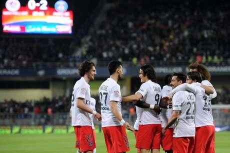 Nos últimos cinco anos, Paris Saint Germain tem 3 títulos e dois vices. Está bom?