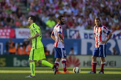 Atlético viu o Barça comemorar o título dentro de sua casa. Vingança por 2014?