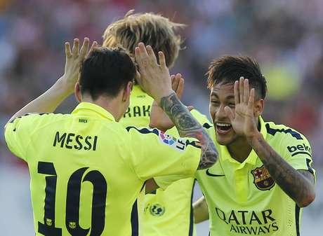 Neste domingo faltou Suárez. Mas vem aí uma nova dinastia do futebol com o MSN?