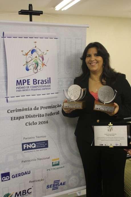 Escola foi uma das vencedoras da edição 2015 do Prêmio MPE, oferecido pelo Sebrae