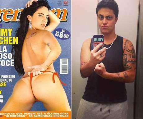 Antes e depois de Thammy Miranda