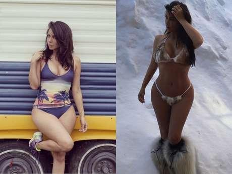 Fotos de Jimena Sánchez la conductora que se parece a Kim Kardashian