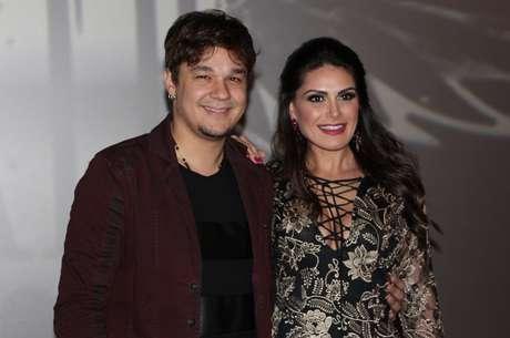 Leandro e a mulher, Natália Guimarães