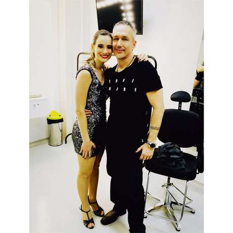 A sortuda e talentosa Jociane foi a escolhida pelo coreógrafo Brian Thomas