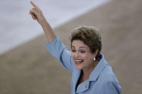 Presidente Dilma Rousseff e presidente do Uruguai, Tabaré Vázquez, no Palácio do Planalto. 21/05/2015