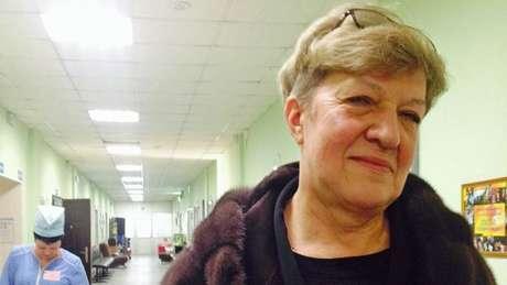Elena Sokolchik, médica-chefe do Centro de Pesquisa e Prática de Narcologia de Moscou