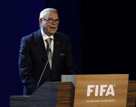 Ex-presidente da CBF José Maria Marin está preso na Suíça