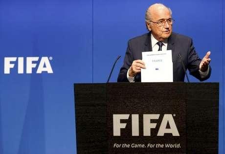 Entidade presidida por Joseph Blatter protagonizou escândalo de corrupção