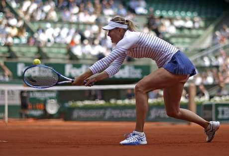 Sharapova já está na terceira fase em Roland Garros
