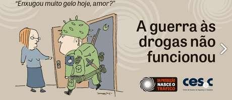 O cartunista carioca André Dahmer também deu sua contribuição