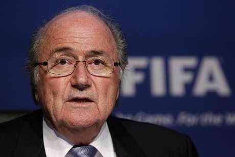 Presidente da Fifa, Joseph Blatter, ainda não está citado em escândalo de corrupção