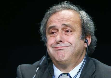 Presidente da Uuefa, Michel Platini aprovou o adeus de Blatter